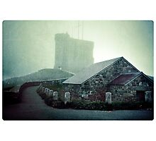 Tower in the Fog Photographic Print