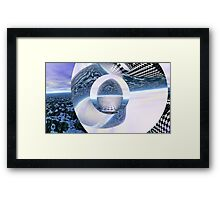 Misplaced Singularity Framed Print