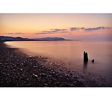 Blue Anchor Bay, Somerset Photographic Print