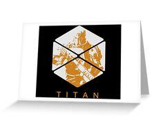 Titan by Shoro Greeting Card