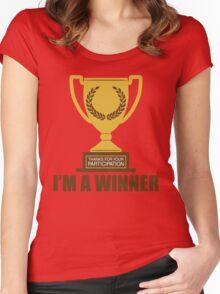 I'm A Winner Women's Fitted Scoop T-Shirt