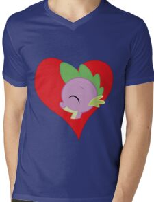 I have a crush on... Spike Mens V-Neck T-Shirt