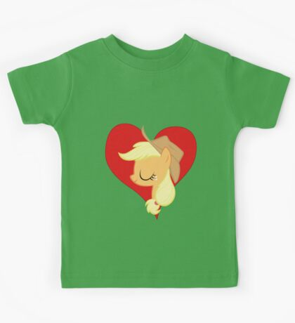 I have a crush on... Applejack Kids Clothes