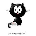 """""""Thanks for being my friend"""" by Vanessa Barklay"""