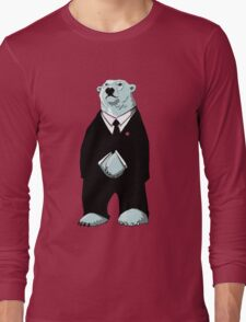 Be Cool Polar Bear. Long Sleeve T-Shirt