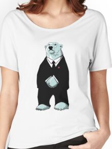 Be Cool Polar Bear. Women's Relaxed Fit T-Shirt