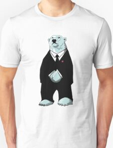 Be Cool Polar Bear. Unisex T-Shirt