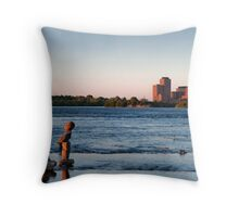 At Here I Stand Throw Pillow