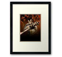 Jack the Samurai Framed Print