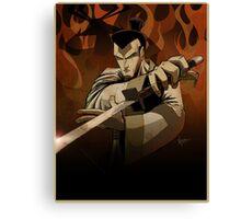Jack the Samurai Canvas Print