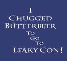 I Chugged Butterbeer by Kathleen Frisch