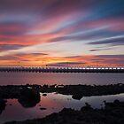 Amble Sunset by Philip  Whittaker