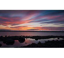 Amble Sunset Photographic Print