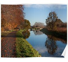 Autumn Refelctions Poster
