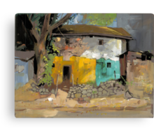 Village House 1 Canvas Print