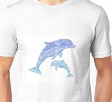 Jumping Dolphins Unisex T-Shirt