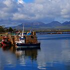 Roundstone Harbour by Rebecca Eldridge
