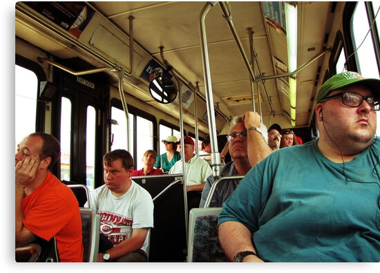 A Day On The Bus by Phil Campus