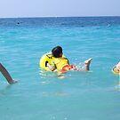 Fun in the Mediterranean Sea by daffodil