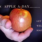 AN APPLE A DAY, KEEPS THE DOCTOR AWAY by Heidi Mooney-Hill