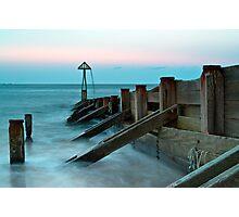 Seaton Sluice Groyn Photographic Print
