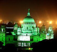 Victoria Memorial - Splash of Joy by Vivek George Koshy