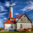 Wind Point Lighthouse  by ECH52