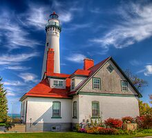 Wind Point Lighthouse  by ECH52