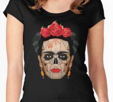 "Frida ""A Geometric Love"" Women's Fitted Scoop T-Shirt"