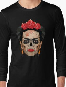 "Frida ""A Geometric Love"" Long Sleeve T-Shirt"