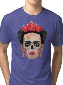 "Frida ""A Geometric Love"" Tri-blend T-Shirt"