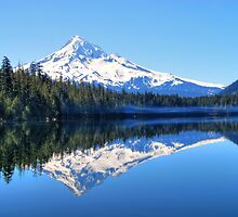 A Mount Hood Reflection by Jennifer Hulbert-Hortman