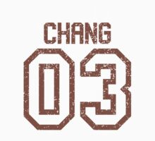 Chang Quidditch Jersey Baby Tee