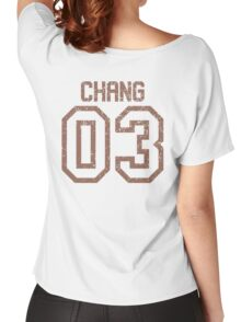 Chang Quidditch Jersey Women's Relaxed Fit T-Shirt