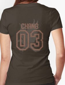 Chang Quidditch Jersey Womens Fitted T-Shirt