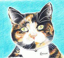 Friendly Cat by Kerina Strevens