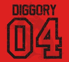 Diggory Quidditch Jersey Kids Tee