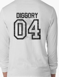 Diggory Quidditch Jersey Long Sleeve T-Shirt