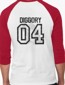 Diggory Quidditch Jersey Men's Baseball ¾ T-Shirt