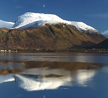 Ben Nevis in Winter by Maria Gaellman