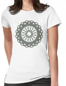 Spokes Womens Fitted T-Shirt