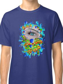 Abstract digital art - Delaneo V4 Classic T-Shirt
