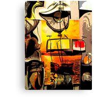 Distorted Canvas Print
