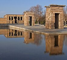 Temple of Debod, Madrid by vivsworld