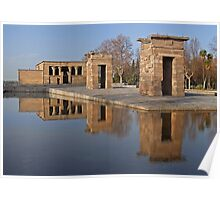 Temple of Debod, Madrid Poster