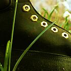 Boot In The Undergrowth by astrawally