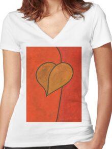 I Desire Women's Fitted V-Neck T-Shirt