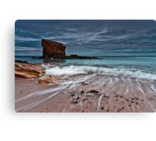 Back Wash Canvas Print