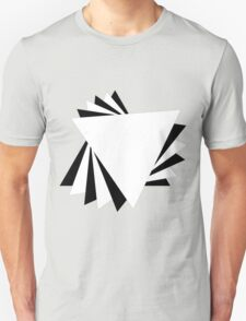 Contrasting Triangles Unisex T-Shirt