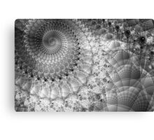 Spiral in Quilted Space Canvas Print